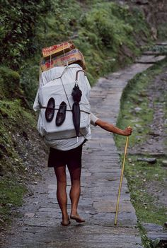 Step by step, Nepal ...by Steve McCurry