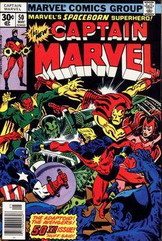 Captain Marvel 50