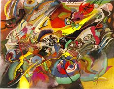 : Study for Composition VII Artist: Wassily Kandinsky Completion Date: 1913 Place of Creation: Munich / Monaco, Germany Style: Abstract Art Series: Compositions Genre: abstract painting Dimensions: 78 x 101.5 cm
