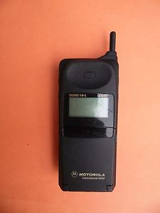 vintage motorola micro tac 8400 gsm telefono movil - Categoria: Avisos Clasificados Gratis  Estado del Producto: sin especificarVintage Unit, for Repair or Parts No testing performedSold As Stated, As Is for Repair or PartsSee photos for further details, clarification, and conditionPlease note all pictures are generic and for reference onlyPLEASE CONTACT US WITH QUESTIONS, CONCERNS, OR REQUESTS FOR ADDITIONAL PHOTOSTHIS ITEM WILL BE SHIPPED IN A BOX AND PACKED WITH CAREI HAVE NO…