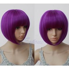 Let her choose which color wig for Hit Girl Costume. $3.50 on eBay