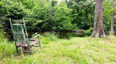 Abandoned Fishing Spot in rural Arkansas