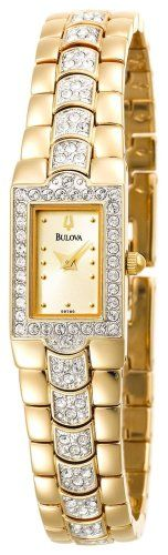#Bulova #Women's 96T14 Crystal #Watch       beautiful watch, looks far more expensive then it cost.       http://amzn.to/HaaSRs