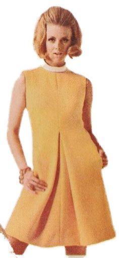1960s Designer Dress McCalls N1014 sz 12 b 32 by ThePerfectPattern