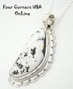 Four Corners USA Online Native American Artisan Jewelry - Large Sacred White Buffalo Turquoise Pendant Necklace NAP-1450, $209.00 (http://stores.fourcornersusaonline.com/large-sacred-white-buffalo-turquoise-pendant-necklace-by-navajo-artisan-wilson-padilla-nap-1450/)