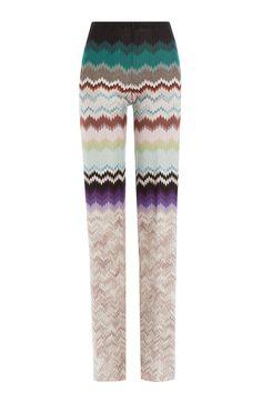 MISSONI Wide Leg Crochet Knit Pants. #missoni #cloth #pants