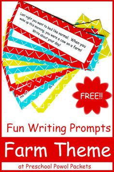 Fun {FREE} Farm Writing Prompts!