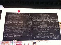 Foodilic menu on Celeriac, Plant Based Eating, Raw Food Recipes, Carrots, Restaurants, Avocado, Stuffed Mushrooms, Menu, Dishes