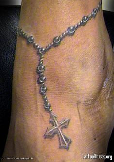 I would definitely want my ankle tattoo to be a silver colour rather than traditional black. It would look more dainty.