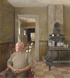 Andrew Wyeth - Erickson's, 1973