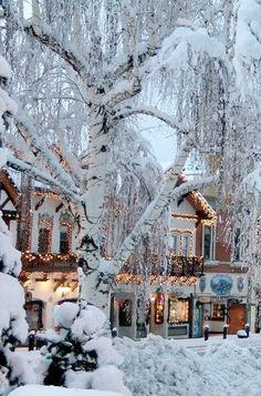 Leavenworth WA. I MUST visit this charming town some day. Preferably in winter. <3