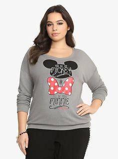 Disney Be My Mickey Sweatshirt   Torrid