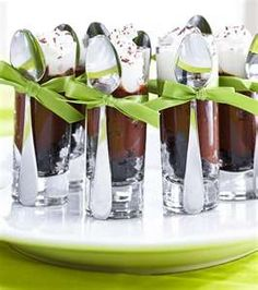 shot glass dessert