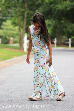 Dogwood Dress PDF pattern sizes 6-16 by sewlikemymom on Etsy