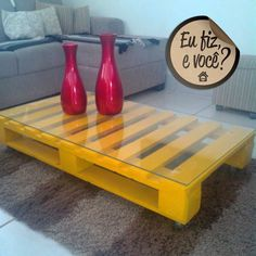 Diy Furniture Projects, Diy Pallet Projects, Home Decor Furniture, Pallet Furniture, Diy Home Decor, Pallet Crates, Pallet Beds, 1001 Palettes, Decoration