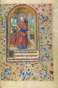 Saint James as a Pilgrim, French, about 1466 - 1470 Ms. Ludwig IX 11, fol. 133