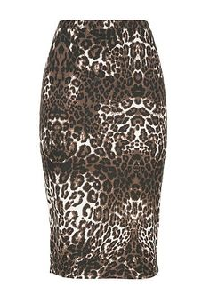 Mid length animal print skirt (original price, $34) available at #Maurices