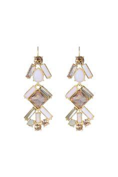 kate spade new york accessories Baguette Bridal Chandelier Earrings