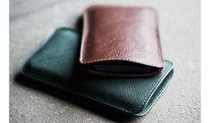 Handmade Leather iPhone Case - Kaufmann Mercantile