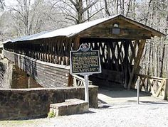 Clarkson Covered Bridge, Cullman county, Alabama.  Must see Crooked Creek Civil War Museum close by, if you happen to be lost and find yourself in this part of the country.