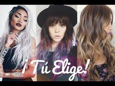 Tendencias cabello 2016, cortes de pelo bob, rizos, melena. Colores, tintes y mechas. Gali Craft - YouTube