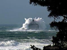 Tillamook Lighthouse off the Oregon coast at Cannon Beach. This is where I grew up! #yankinaustralia #oregon
