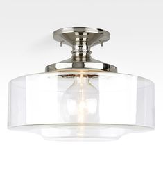 Eastmoreland Semi Flush 8"