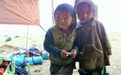 Hello from Dawa and Tsering, both 5 years old, from Gufa in the Sankhuwasabha district of Nepal.  Dawa and Tsering have never been to a school, and are at risk of growing up without ever holding a pencil or textbook.