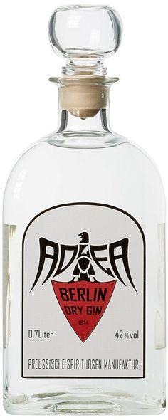 Adler Berlin Dry Gin (1 x 0.7 l)