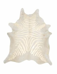 Devore Metallic: Rustic Zebra Gold on Beige