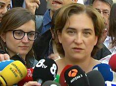 Ada Colau, optimista de pactar amb ERC - elsingular.cat, 27/05/2015