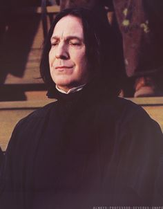 2000TH PIN WITH A LITTLE SMIRK OF OUR BELOVED SEVERUS :333