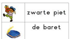 Stempelblad Zwarte Piet