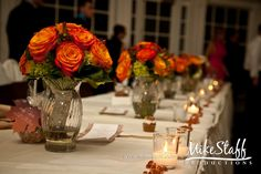 #wedding flowers #wedding bouquet #orange roses #Michigan wedding #Mike Staff Productions #wedding details #wedding photography http://www.mikestaff.com/services/photography