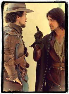 The Musketeers - Aramis & D'Artagnan, 'If this gets me hanged...'