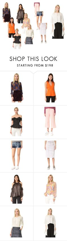 """fashion lovers"" by justinallison ❤ liked on Polyvore featuring Nina Ricci, Thierry Mugler, Monse, James Jeans, J Brand, DKNY, Maria Lucia Hohan, Jason Wu and Monique Lhuillier"