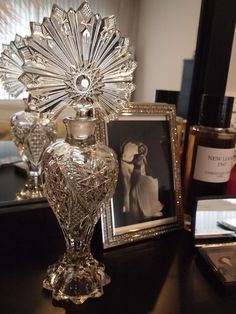 vintage perfume decanter