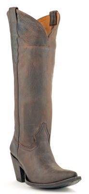 Womens Yippee Ki Yay Thunder Cat Boots Chocolate #Ypk41 via @allen sutton Boots