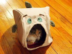 DIY Cat Fish Hide - PetDIYs.com