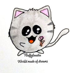 Kitty, Drawings, Cats, Cuddle Cat, Gatos, Kitten, Baby Cats, Draw, Drawing