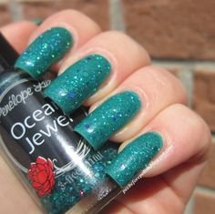 Penelope Luz Ocean Jewel [over Liabel #351]