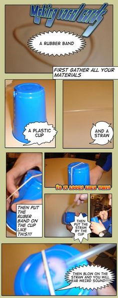 Make a vocal cord model - would be awesome for a STEM-centric lesson!