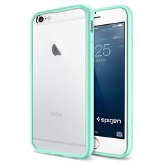 The Mint and Clear Ultra Hybrid Bumper iPhone 6 Case