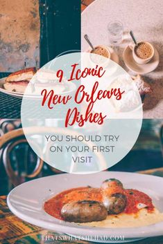 9 iconic New Orleans foods you must try on your first visit! #NOLA #NewOrleans #NOLAfood #NewOrleansFood