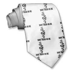 Shopping for customizable Gadsden ties is easy on Zazzle. Dont Tread On Me, Thats Not My, Tie, Ties