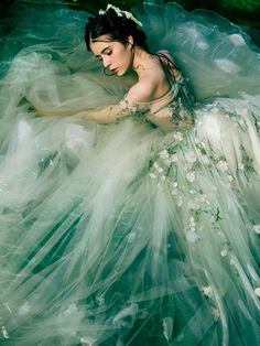 Fairy Prom Dress, Tulle Prom Dress, Homecoming Dresses, Wedding Dresses, Fairy Clothes, Entrepreneur Inspiration, Chapel Train, Color Show, Evening Dresses