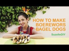 Suzelle DIY: How to make boerewors bagel dogs - All 4 Women Braai Pie, South African Braai, Bagel Dog, Sleep Dream, Savoury Dishes, A Funny, I Laughed, Cooking, Dogs