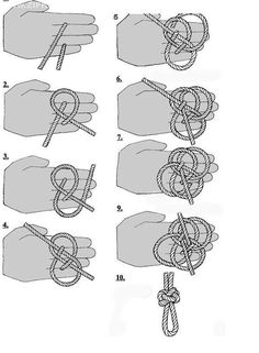 rope knots instructions | Discuss Finally, good FIADOR knot instructions! at the Tack ...