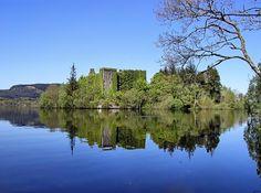 Innis Chonnel on Loch Awe