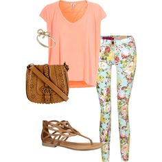 A fashion look from March 2013 featuring Splendid t-shirts and Topshop rings. Browse and shop related looks.